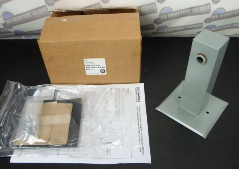 EDWARDS - WBR - SECURITY & Fire and Life Safety WALL MOUNT BRACKET (NEW in BOX)