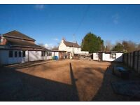 Builders yard | Builders accommodation | Guildford | Commercial yard & residential accommodation
