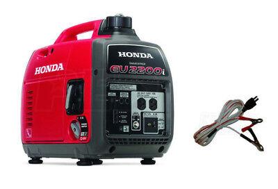 Honda Eu2200i W Free Oem Charging Cable - Quiet Portable Inverter Generator