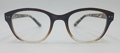 Lulu Guinness Prescribed Eyeglasses LR14 Size 52-19-145 Brown Frame (Prescribed Eyeglasses)