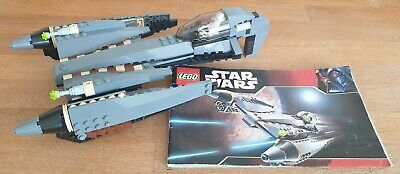 LEGO STAR WARS 7656. GENERAL GRIEVOUS STAR FIGHTER SET COMPLETE + INSTRUCTIONS