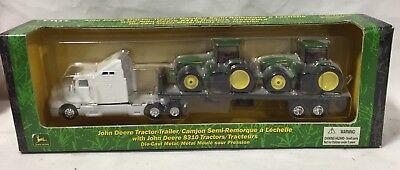 ERTL John Deere 8310 Kenworth Semi Hauling Set 1/87 NIB
