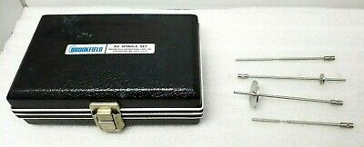 BROOKFIELD RV SPINDLE SET AND CASE