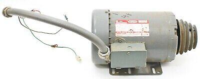 Dayton 3 Phase Ac Motor 1740 Rpm 260v 56hz 1 Hp 3n285c