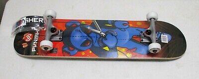 "Punisher Skateboards PUPPET 31.5"" ABEC-7 Skateboard ~ NEW"