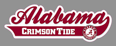 University of Alabama UA Wordmark Logo Crimson Tide 9