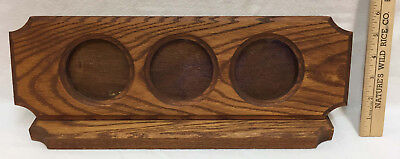 Picture Frame Desk Top 3 Round Circles 3