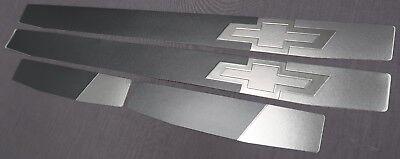 2016-2019 Chevrolet Colorado OEM Adhesive Steel Door Sill Scuff Plates NEW