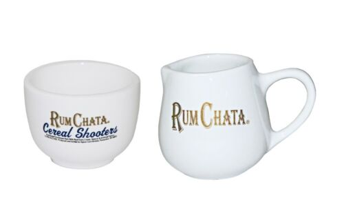 NEW Rum Chata Cereal Shooter and Pitcher Set