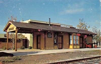 La Mesa California Railroad Depot Street View Vintage Postcard K90942 for sale  Shipping to Canada