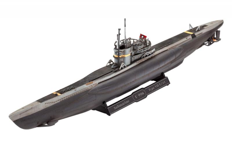 PLAN Type 033 Submarine /& SH-5 - HBB83515 Hobbyboss 1:350
