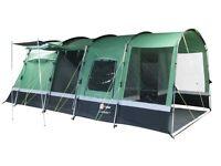 Hi gear corado 4 tent with carpet, footprint & porch. Great camping set