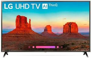 NEW LG Electronics 49UK6300PUE 49-inch 4K Ultra HD Smart LED TV (2018 Model) Condition: New