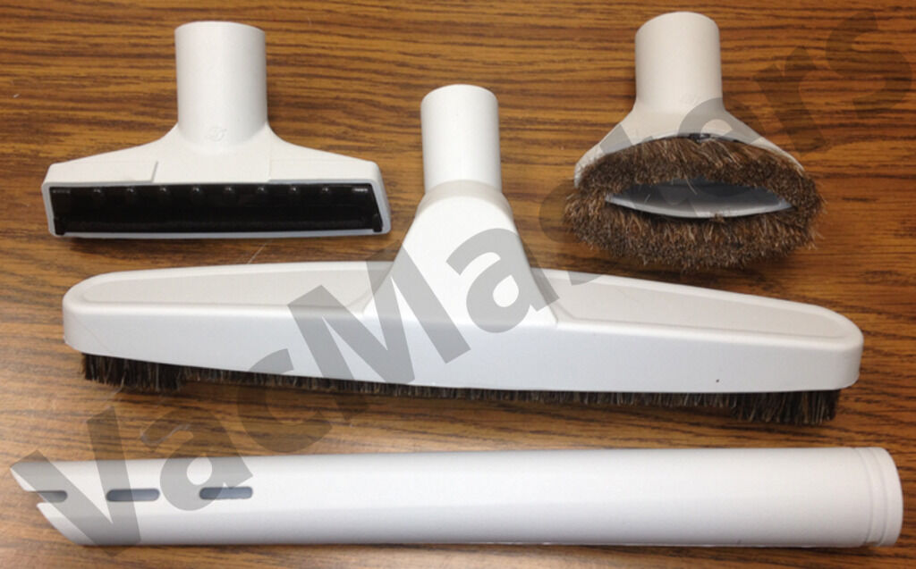 Premium Vacuum & Central Vacuum 4-pc Attachment Kit/set - Fits All 1.25 Brands