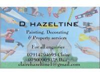 Painting, Decorating & HandyMan Service