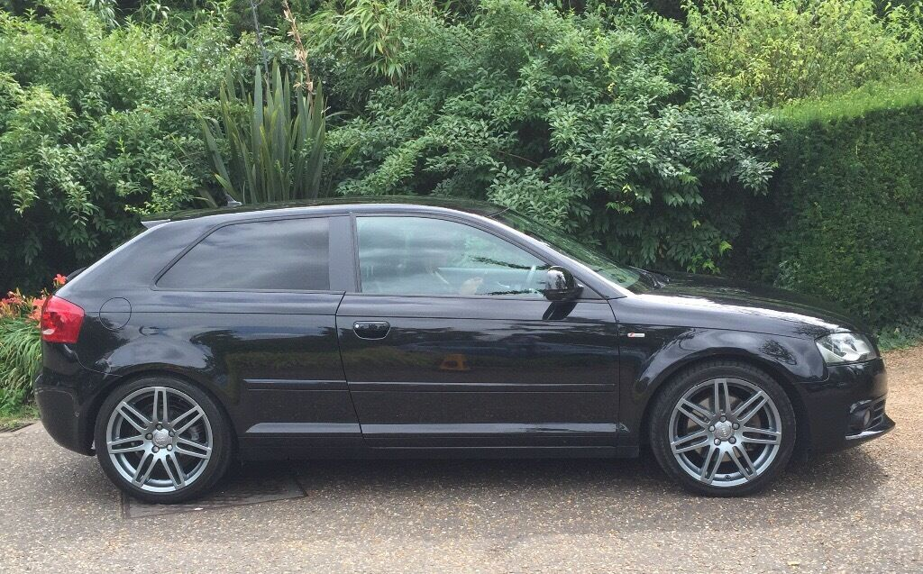 audi a3 2 0 tdi 170 bhp s line black edition 3 door in norwich norfolk gumtree. Black Bedroom Furniture Sets. Home Design Ideas