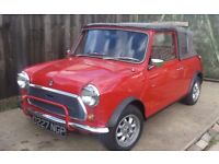 GORGEOUS MINI CONVERTIBLE LOW MILES 63000 MILES 1986 31 YEARS OLD