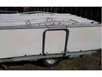 1979 rapido folding caravan trailer 5/6 berth