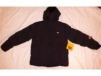"Caterpillar Men's/large boy's Jacket Size 36-38"" Small men's coat £22 o.v.n.o."