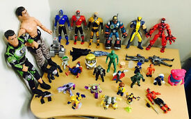 A set of quality action figures etc..., take the lot for only £25,immaculate as seen in pictures