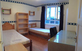 Share room opposite to Hammersmith Station, in clean flat