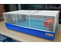 two gerbil/hamstercages