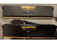 Corsair Vengeance LPX DDR4 Memory 16GB (2x8GB)