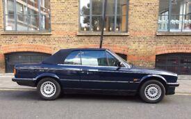 BMW E3O 320i CONVERTIBLE 1988