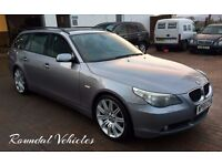 "2005 BMW 525 SE Touring ( sport ) estate auto 115k, Gunmetal grey, 19""sport alloys grey Lthr nav"