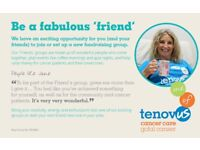 Join Tenovus Cancer Care's Torfaen Friends fundraising group!