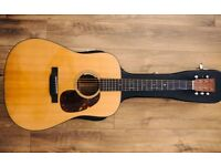 2013 Martin D18 Acoustic *Superb Condition* with/without LR Baggs Anthem Pickup + hard case D-18