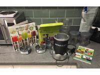 Nutribullet, book and spare accessories for sale