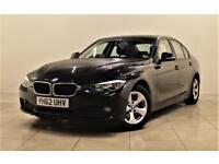 BMW 3 SERIES 2.0 320D EFFICIENTDYNAMICS 4d AUTO 161 BHP + 1 PRE (black) 2012
