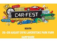 Carfest South VIP 3 day childrens ticket