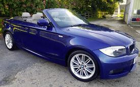 BMW 1 Series 2.0 120d M Sport 175bhp E88 2dr - Excellent Condition
