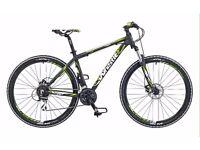 Stolen Whistle Huron 24 speed mountain bike.