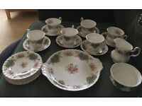 Royal Albert Bone China Berkeley Tea Set