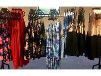 Women's high street fashion surplus stock