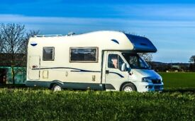 CLASSIC MOTORHOME hire (2-6 berth). Choose according to YOUR BUDGET