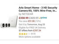 Arlo smart home 3D security cameras