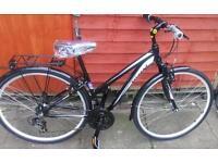 Mizani hybrid aluminium bike