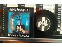 Public Image Ltd. – Flowers Of Romance, VG, 7 inch single, released on Virgin in 1981.