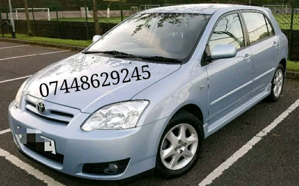 2003-2008 Toyota Corolla 2.0 d4d breaking for parts All parts available