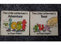 Two Vintage 1980's The Little Lettermen Books/book – post or collect