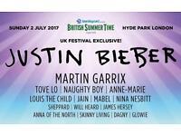 Justin bieber Hyde park Sunday 2nd June
