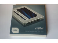 """Crucial MX300 2TB SATA 2.5"""" 7mm (with 9.5mm adapter) Internal SSD"""