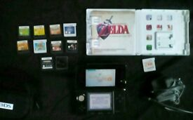 3ds console zelda 25th anniversary & games... (occorina of time ect...)