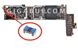 L17_RF Blue Coil resolution error no service signal GSM no wifi for iPhone 4