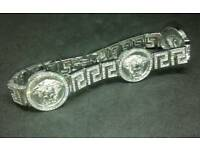 Brand new Medusa real silver bracelet