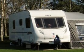 Ace jubilee viscount 2009 4 berth twin axle caravan fully serviced vgc